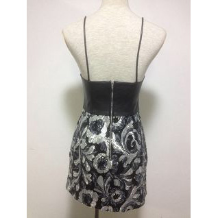 Ladies' Leather Sequins Dress